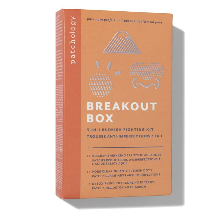 Patchology breakout box packaging